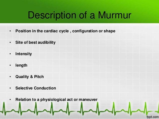 Systolic murmurs Slide 3