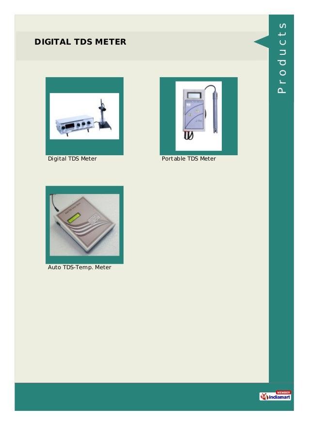 DIGITAL TDS METER Digital TDS Meter Portable TDS Meter Auto TDS-Temp. Meter Products