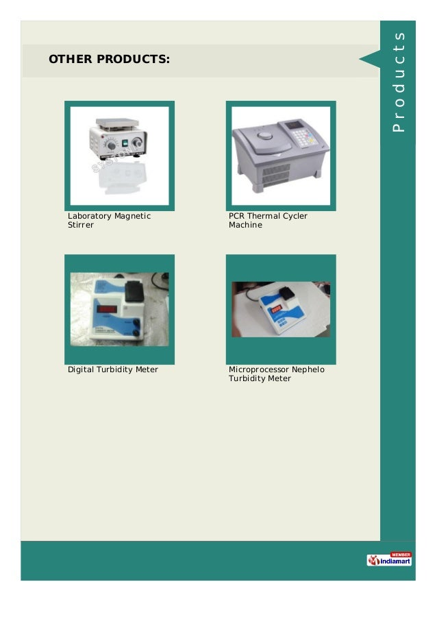 OTHER PRODUCTS: Laboratory Magnetic Stirrer PCR Thermal Cycler Machine Digital Turbidity Meter Microprocessor Nephelo Turb...