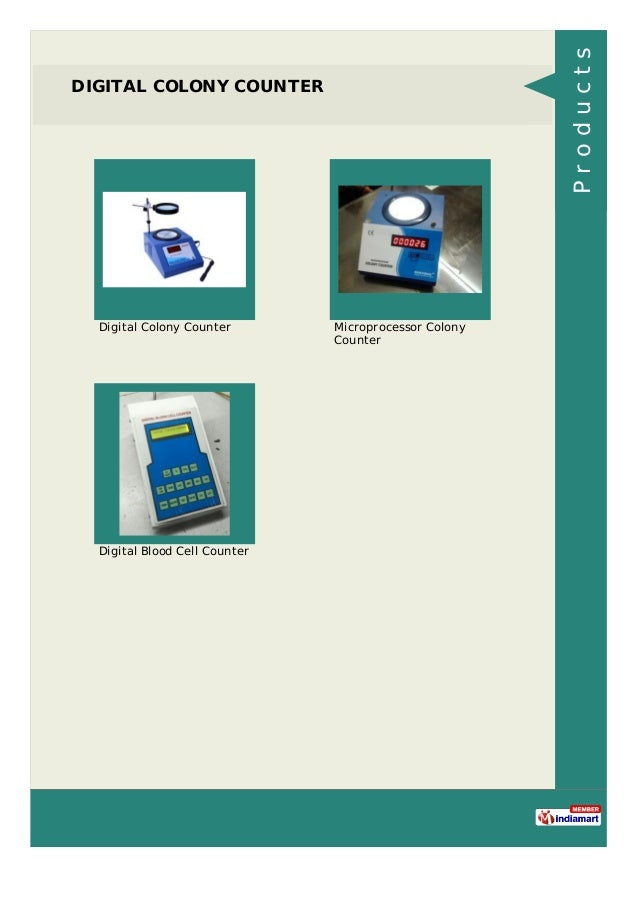 DIGITAL COLONY COUNTER Digital Colony Counter Microprocessor Colony Counter Digital Blood Cell Counter Products