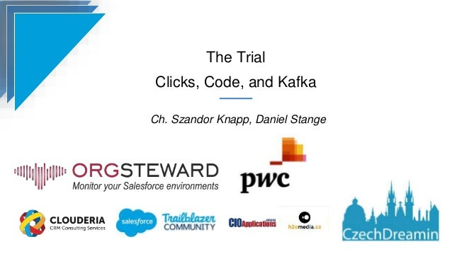 The Trial Clicks, Code, and Kafka Ch. Szandor Knapp, Daniel Stange