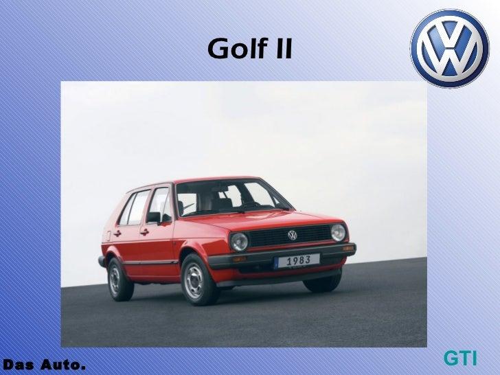Golf IIDas Auto.             GTI