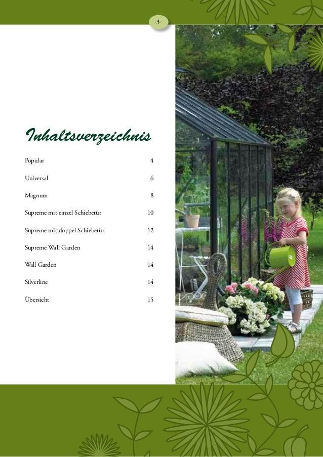 Szklarnie ogrodowe Halls katalog 2013 DE e-millennium Slide 3