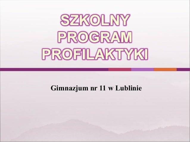 Gimnazjum nr 11 w Lublinie