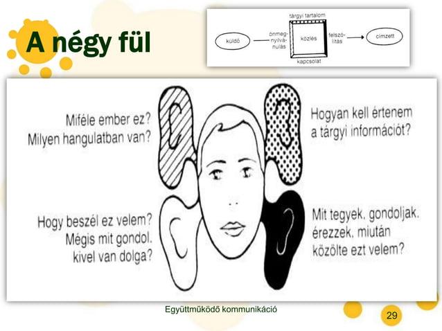 A négy fül Együttműködő kommunikáció 29