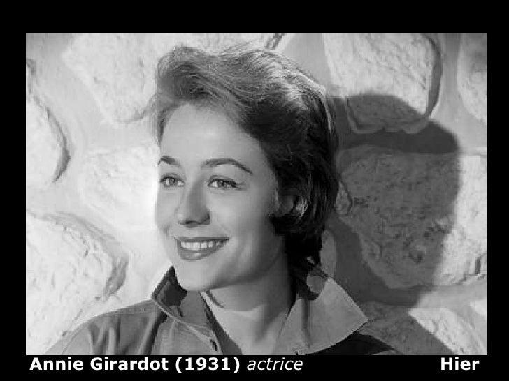 Annie   Girardot (1931)  actrice  Hier
