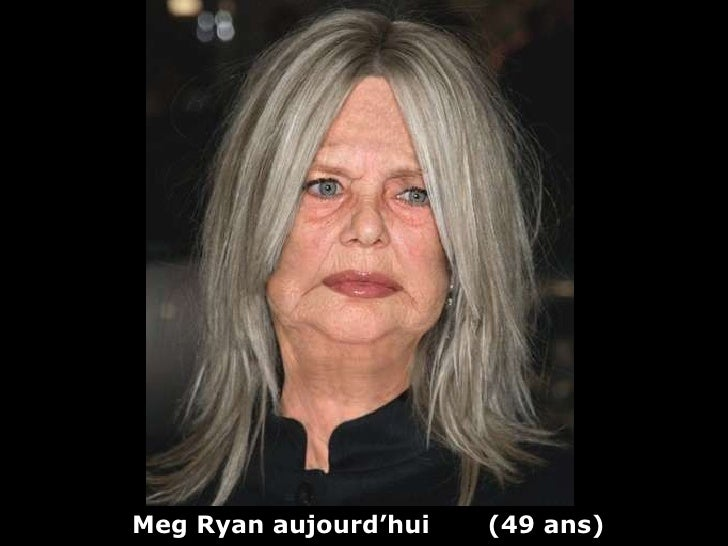 Meg Ryan aujourd'hui  (49 ans)