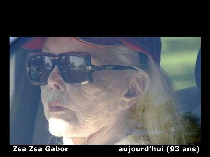 Zsa Zsa Gabor  aujourd'hui (93 ans)