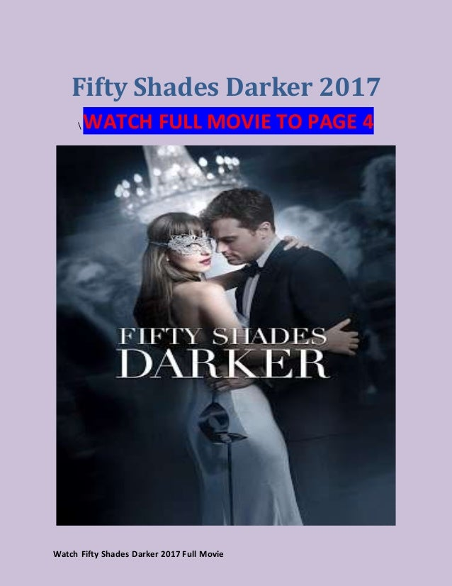 Watch Fifty Shades Darker 2017 A Full Movie Of Sing