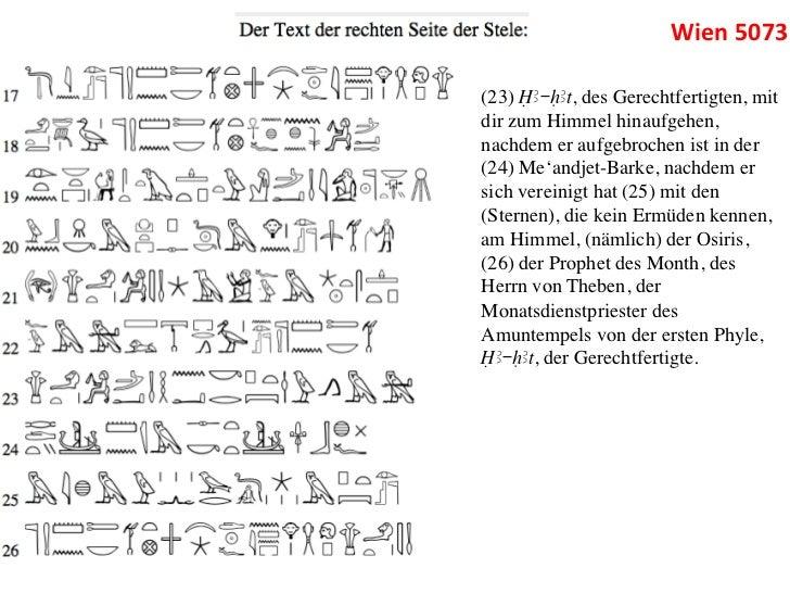 Wien 5073 (23) ÎA-HAt, des Gerechtfertigten, mitdir zum Himmel hinaufgehen,nachdem er aufgebrochen ist in der(24) Me'a...