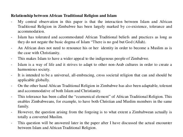 an introduction to the relationship between islam and christianity Islam and christianity are both in the second workshop called the relationship between muslims and christians konrad-adenauer-stiftung.