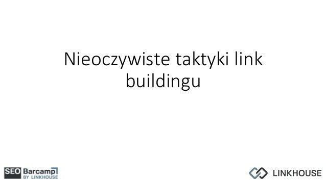 Nieoczywiste taktyki link buildingu