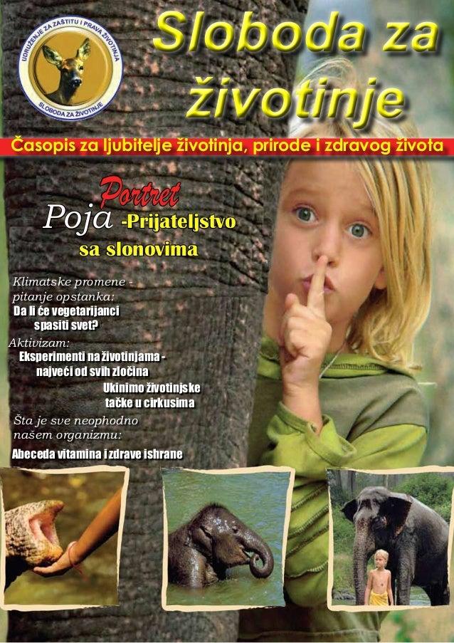 Časopis za ljubitelje životinja, prirode i zdravog života Sloboda za životinje Sloboda za životinje Klimatske promene - pi...