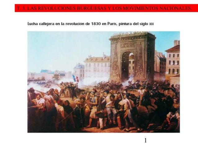 T. 3. LAS REVOLUCIONES BURGUESAS Y LOS MOVIMIENTOS NACIONALES.  1