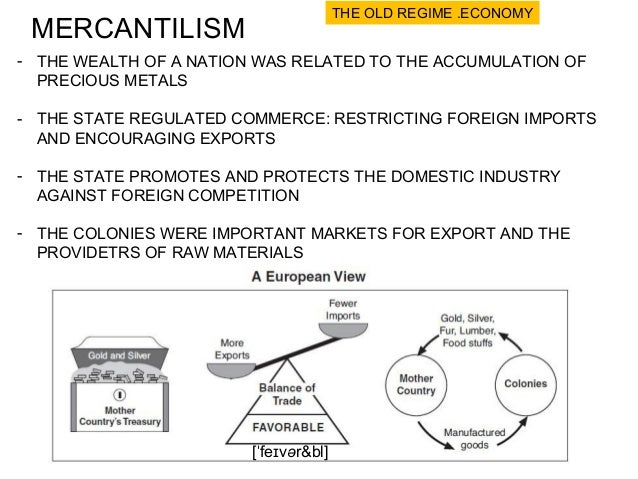 What to Worry about Today: Mercantilism vs. laissez-faire