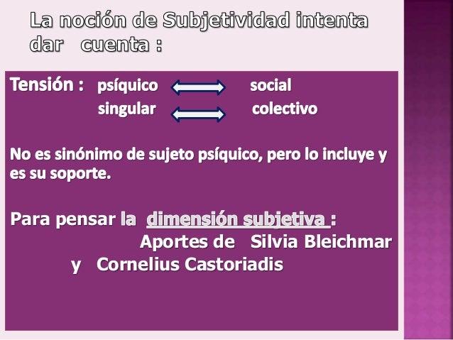 T.7 entre la produccion de subjetividad Slide 3