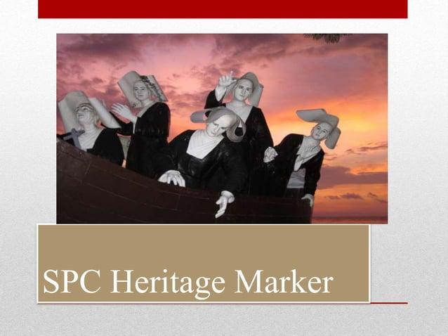 SPC Heritage Marker