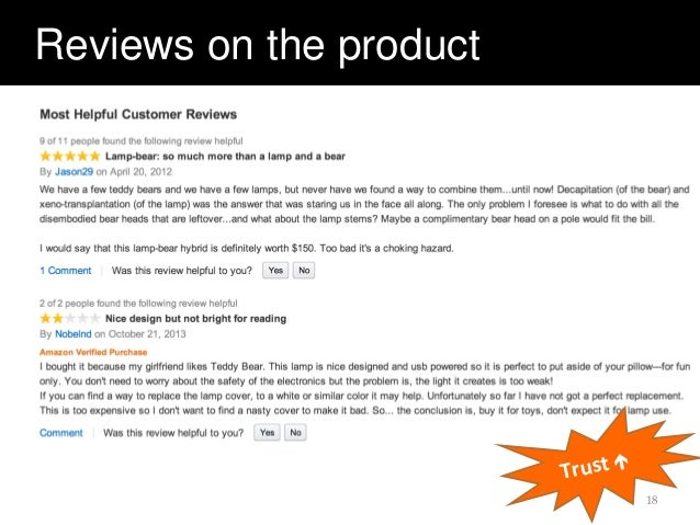 Reviews on the product 18 Trust 