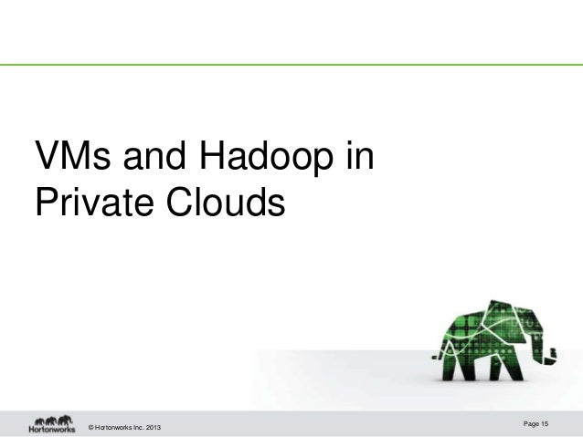 Hadoop in the Clouds, Virtualization and Virtual Machines