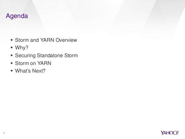 Multi-Tenant Storm Service on Hadoop Grid Slide 3