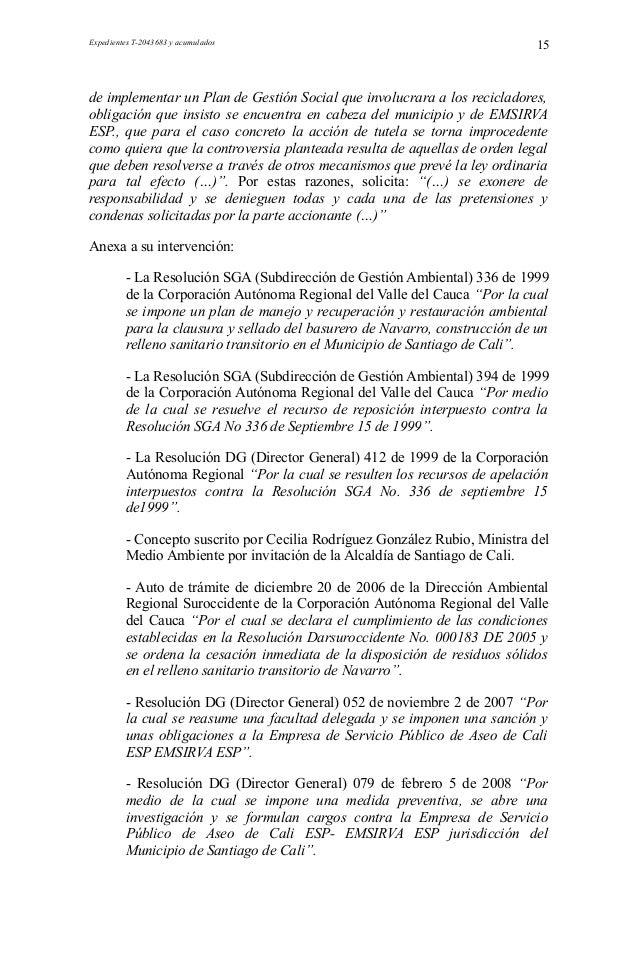 T 291-09.rtf Garantía al Acceso a los Servicios Públicos