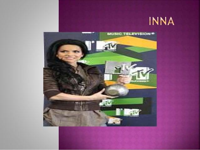  Elena Alexandra Apostoleanu (Mangalia, Rumania, 16 de octubre de 1986), conocida internacionalmente como Inna, es una ca...