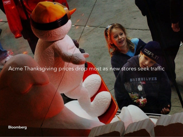 Albertsons' Acme chain led retailers in lowering the cost of Thanksgiving dinner, according to a Bloomberg Intelligence pr...