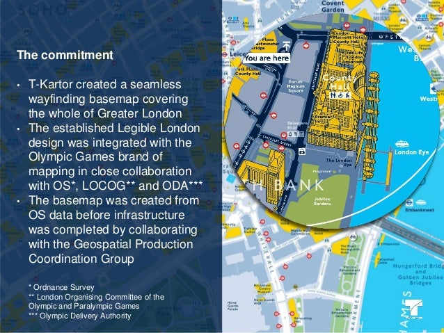 City wayfinding for sporting events