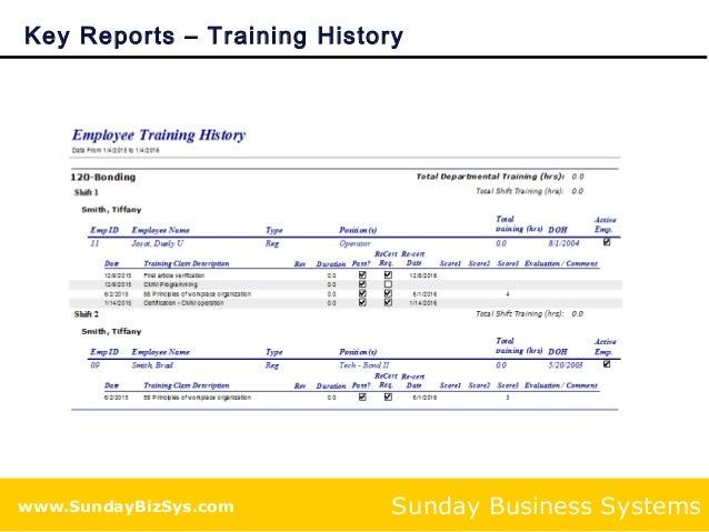 employee training management