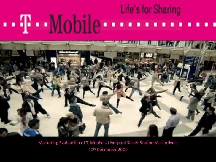 Tom Muldowney - T-Mobile Liverpool Street Station Advert Evaluation