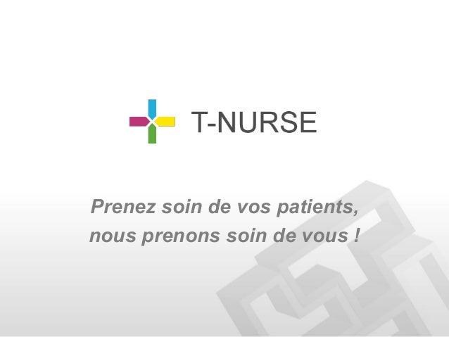 Prenez soin de vos patients,nous prenons soin de vous !