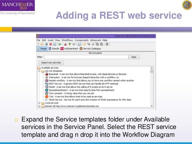 2014 Taverna tutorial REST services