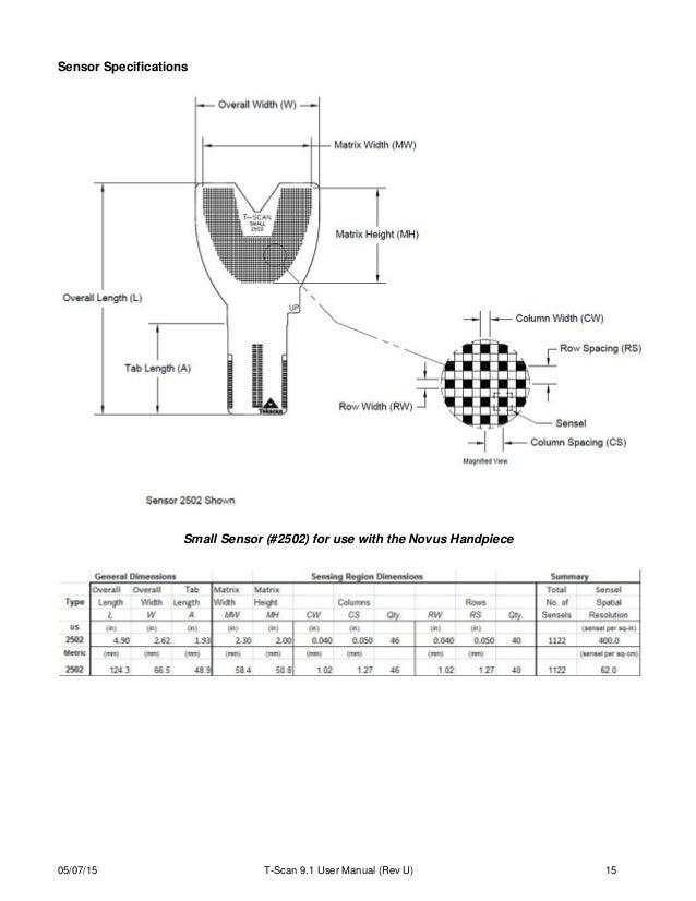 T scan NOVUS user manual