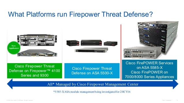 ASA Firepower NGFW Update and Deployment Scenarios