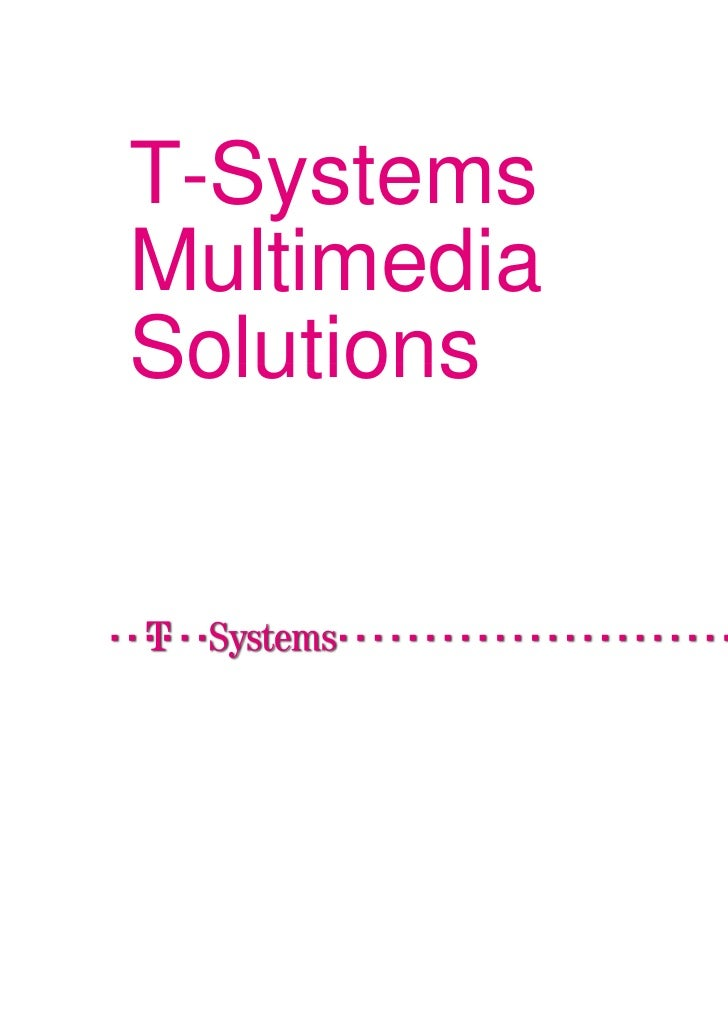 T-SystemsMultimediaSolutions