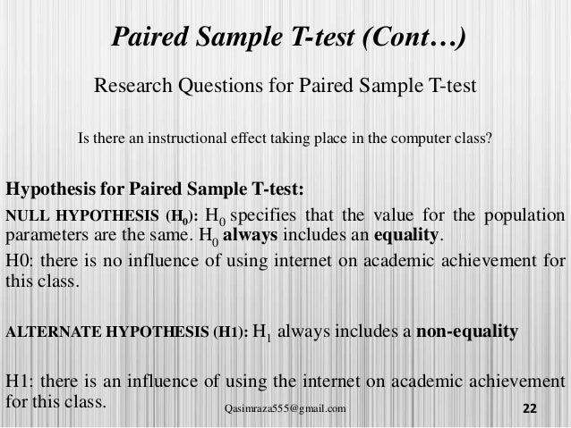 T Test Independant Sample Paired Sample And Anova