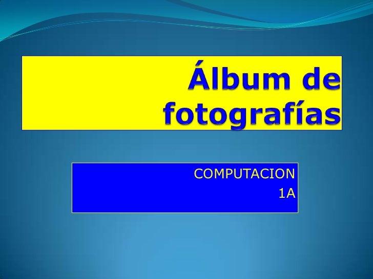 COMPUTACION         1A