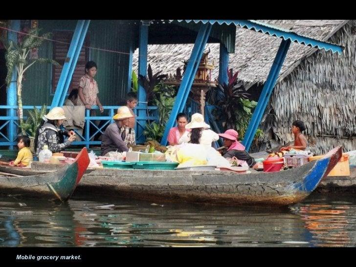 Villages in Kampong Phluk.