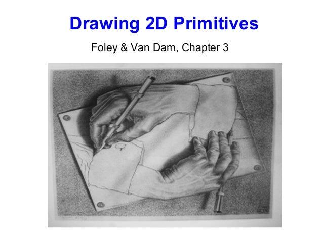 Drawing 2D Primitives Foley & Van Dam, Chapter 3