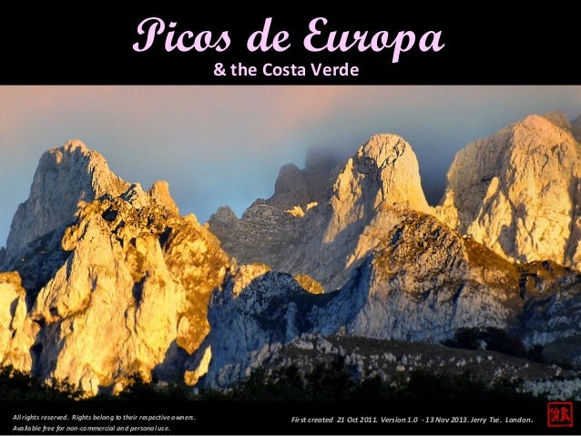 Picos de Europa & the Costa Verde  All rights reserved. Rights belong to their respective owners. Available free for non-c...