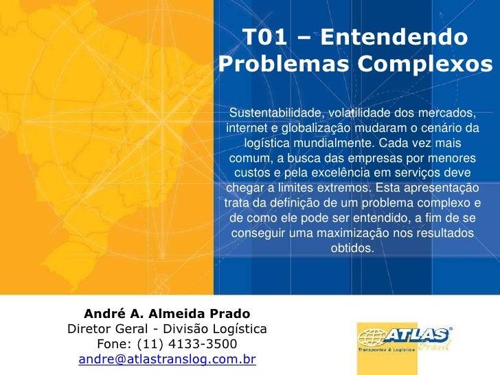 T01 análise do transporte rodoviário de cargas no brasil