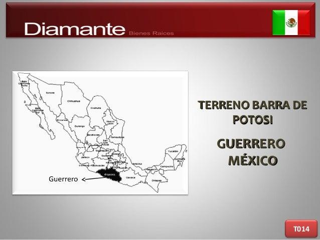 TERRENO BARRA DETERRENO BARRA DE POTOSIPOTOSI GUERREROGUERRERO MÉXICOMÉXICO T014