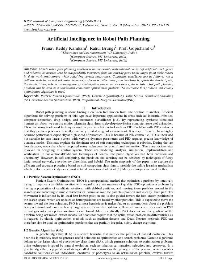 IOSR Journal of Computer Engineering (IOSR-JCE) e-ISSN: 2278-0661,p-ISSN: 2278-8727, Volume 17, Issue 3, Ver. II (May – Ju...