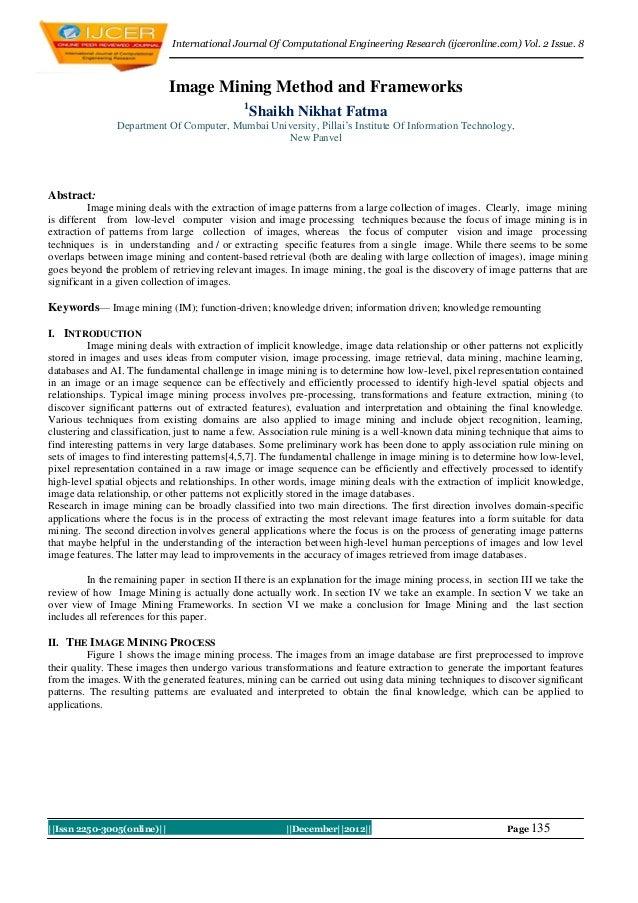 International Journal Of Computational Engineering Research (ijceronline.com) Vol. 2 Issue. 8                             ...