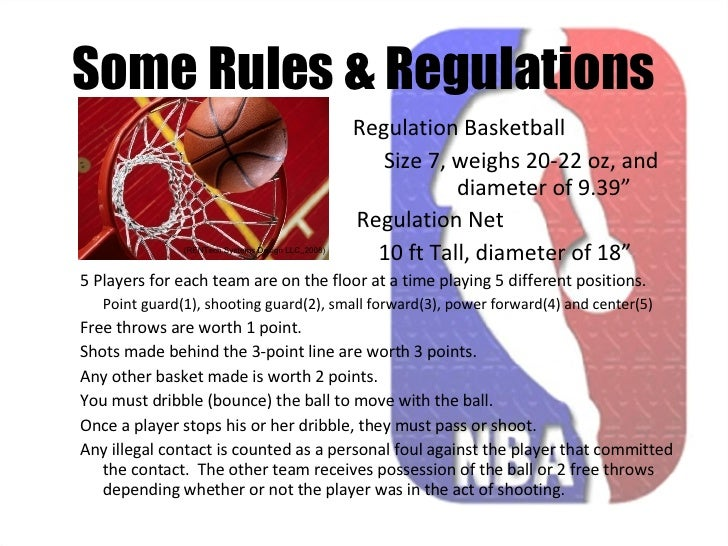 rules together with ordinances connected with basketball
