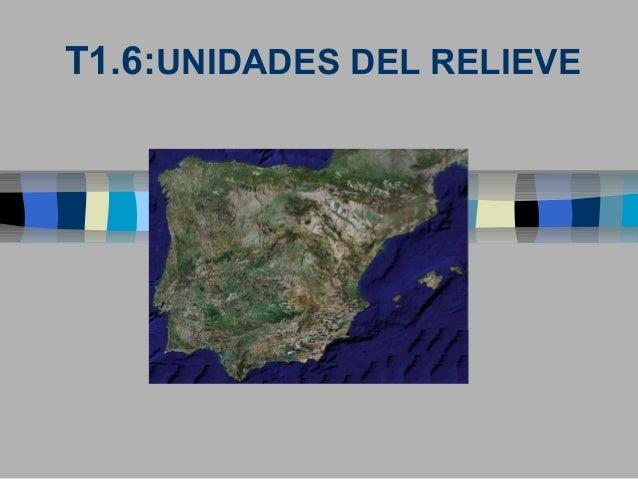 T1.6:UNIDADES DEL RELIEVE