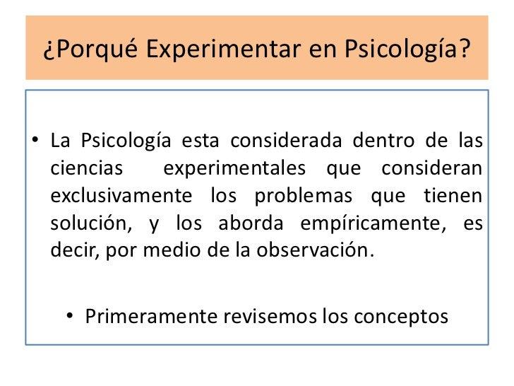 T1 el m todo experimental en psicolog a for Que es divan en psicologia