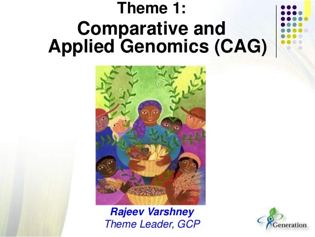 Theme 1:Comparative andApplied Genomics (CAG)Rajeev VarshneyTheme Leader, GCP