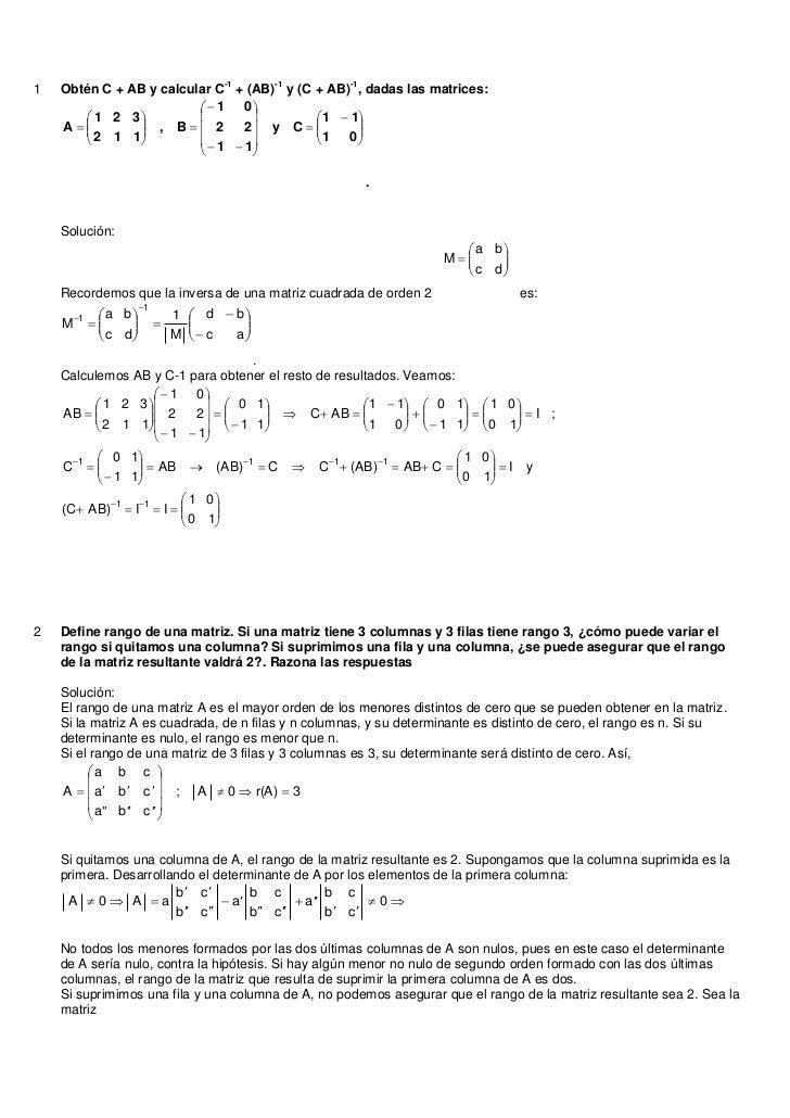 -1     -1      -11   Obtén C + AB y calcular C + (AB) y (C + AB) , dadas las matrices:                           1 0   ...