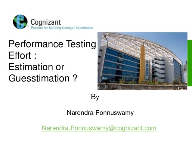 © 2006, Cognizant Technology Solutions. All Rights Reserved. The information contained herein is subject to change without...